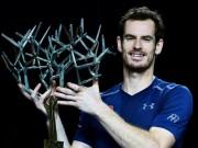 Thể thao - Lần đầu vô địch Paris Masters, Murray lo sớm mất ngôi số 1