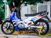 Thế giới xe - Suzuki Satria 2000 độ ngầu của dân chơi Sài Gòn