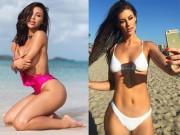 Làm đẹp - Hai hot girl phòng gym với vẻ đẹp gây sốt cộng đồng mạng