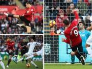 Bóng đá - MU: Ibrahimovic ghi bàn thứ 25.000, lỡ đại chiến Arsenal