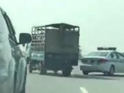 Tin tức trong ngày - Xử phạt ô tô chạy ngược chiều gần 10km trên cao tốc