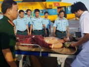 Tin tức trong ngày - Điều trực thăng chuyển bệnh nhân ở đảo Song Tử Tây về TP.HCM