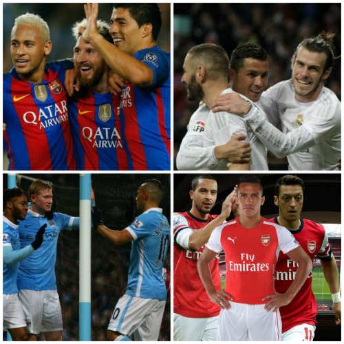 """""""Tam tấu"""" hay nhất châu Âu: Messi-Suarez-Neymar độc bá - 2"""