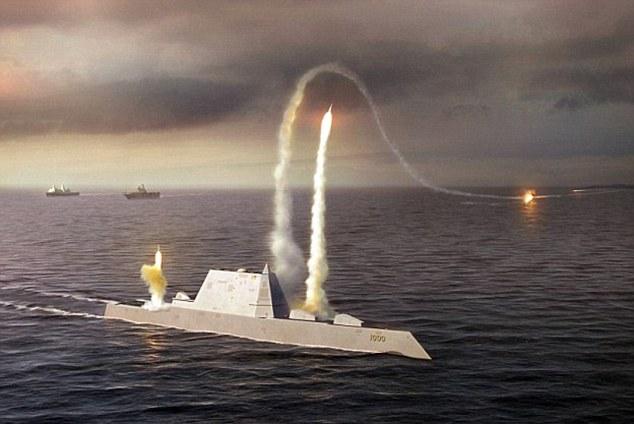 Siêu khu trục hạm Zumwalt Mỹ ra khơi với vũ khí vô dụng - 1