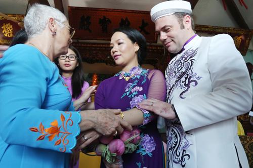 Độc đáo lễ Hằng Thuận ở chùa Vĩnh Nghiêm của cặp đôi Pháp – Việt - 7