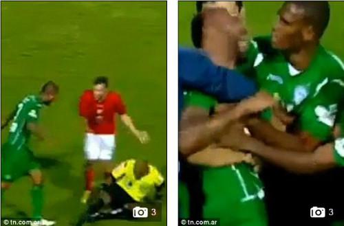 Bi kịch: Bị thẻ đỏ, cầu thủ dùng đầu húc chết trọng tài - 1
