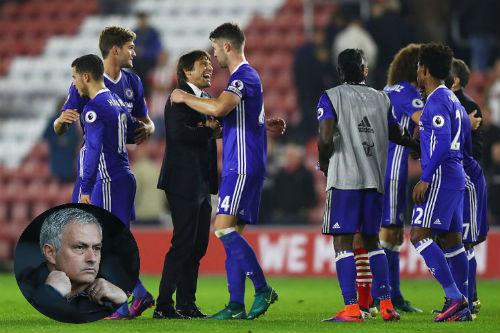 Học Chelsea đá 3-4-3, Mourinho sẽ giúp MU hồi sinh? - 1