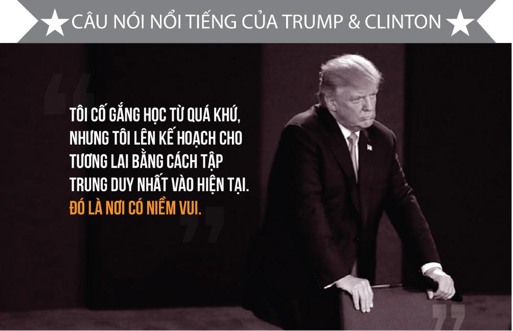 [Đồ họa] Khác nhau như nước với lửa giữa Trump và Clinton - 13