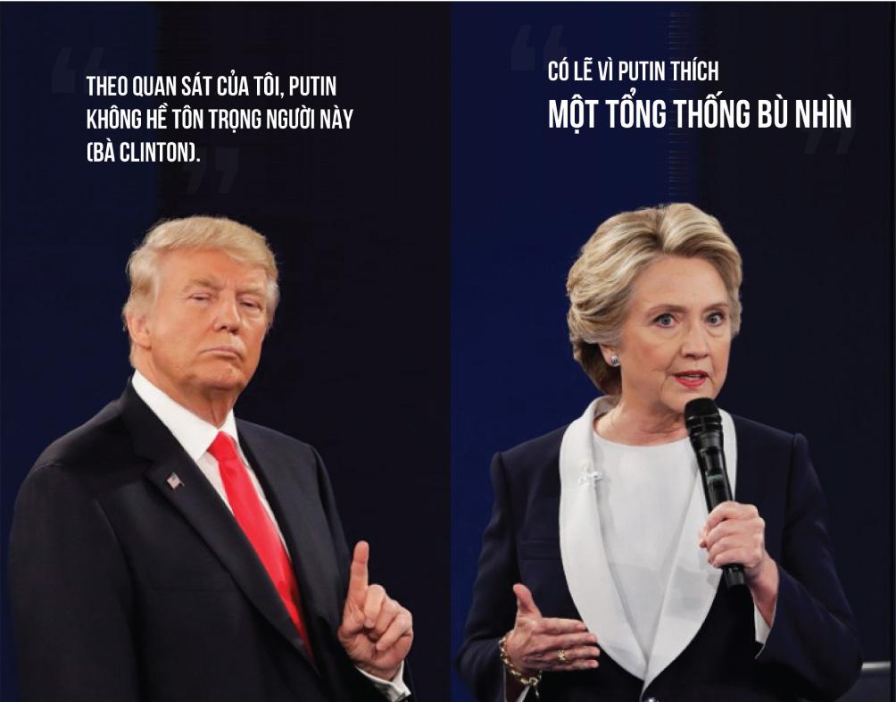[Đồ họa] Khác nhau như nước với lửa giữa Trump và Clinton - 12