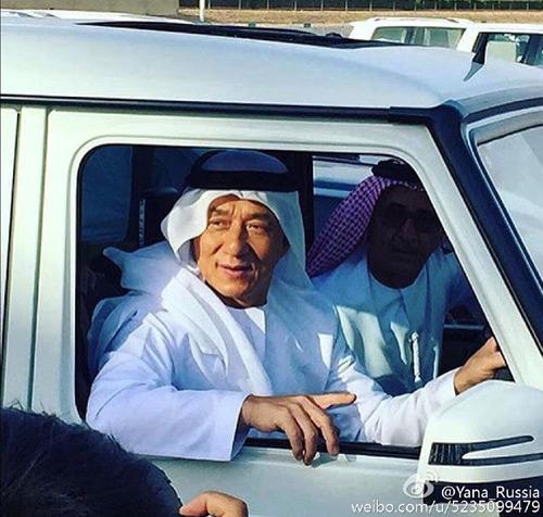 Ê kíp phim Thành Long phá nát siêu xe của hoàng tử Dubai - 5