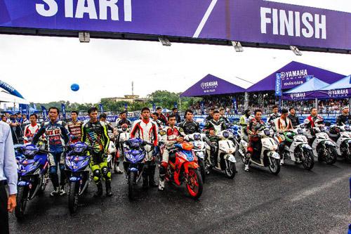 Yamaha GP – Giải đua với 03 dòng xe tiên phong - 1