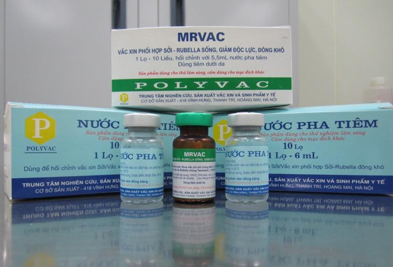 Việt Nam sản xuất thành công vaccine sởi-rubella - 1