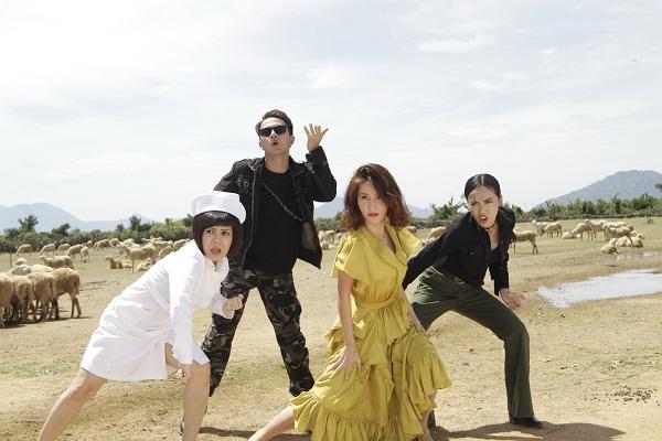 """Diễm My 9X lần đầu hát nhạc phim trong """"Chạy đi rồi tính"""" - 1"""
