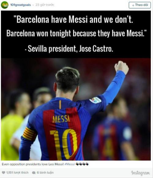 Ủng hộ Messi giành QBV, fan tung ra ngàn lý do - 8