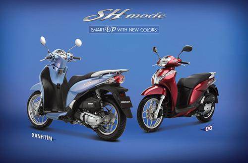 Honda Việt Nam giới thiệu phiên bản mới SH Mode 125cc - 4