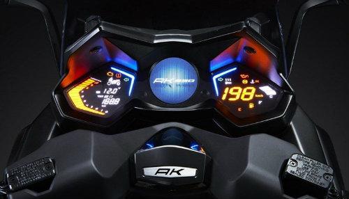 2017 Kymco AK 550 trình làng dọa Yamaha Tmax - 2