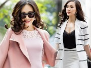 Thời trang - Mỹ nữ có làn da đẹp nhất Hoa hậu Việt Nam hút hồn trên phố
