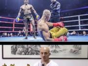 """Thể thao - Buakaw chế nhạo tuyệt kỹ """"chân sắt"""" của Yilong"""