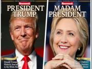 Thế giới - Báo Mỹ làm trước bìa Clinton chiến thắng gây 'bão' mạng