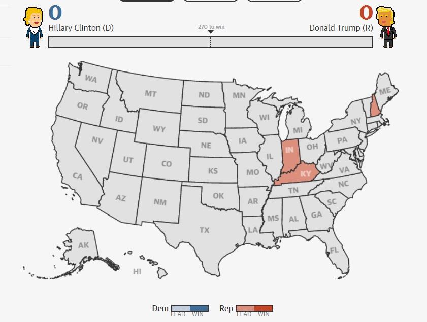 Bầu cử Mỹ: Kết cục bất ngờ chấn động - 35