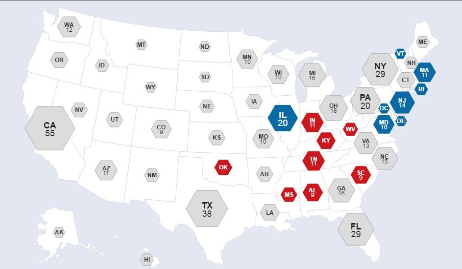 Bầu cử Mỹ: Kết cục bất ngờ chấn động - 29