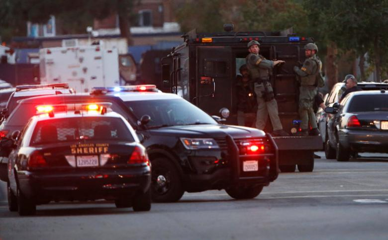 Một người bị bắn chết gần điểm bầu cử tổng thống Mỹ - 1