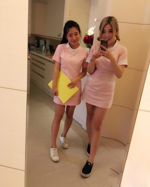 Ngượng chín mặt với nữ y tá diện váy ngắn khám bệnh - 7