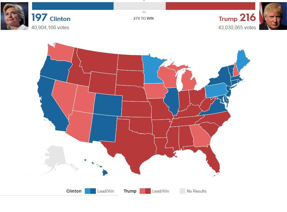 Bầu cử Mỹ: Kết cục bất ngờ chấn động - 13