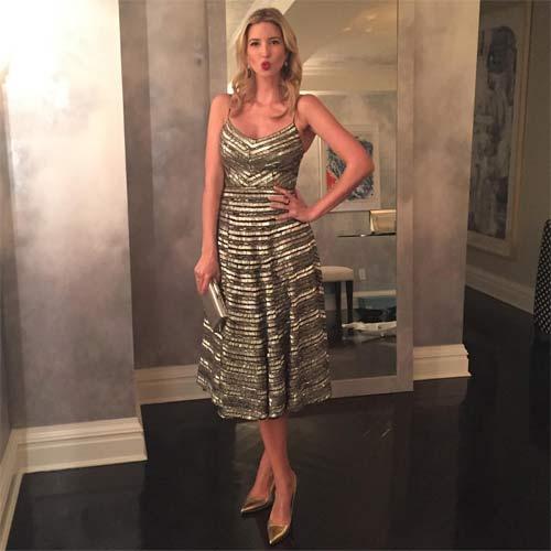 Gu ăn mặc quá đỗi gợi cảm của ái nữ nhà Donald Trump - 13