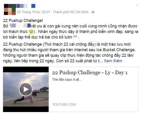 Thử thách chống đẩy 22 cái gây sốt giới trẻ - 6