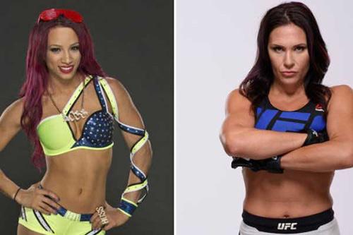 """Ghét thái độ: """"Nữ quái"""" UFC đòi chiến """"thánh nữ"""" WWE - 1"""
