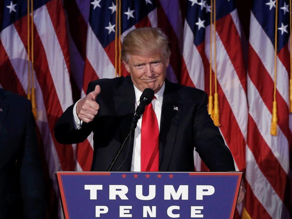 Phát ngôn khác lạ của Trump sau chiến thắng kinh ngạc - 1