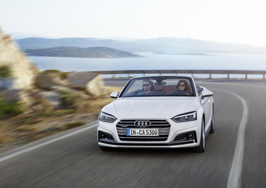 Audi A5 và S5 Cabriolet 2017 lộ diện - 1