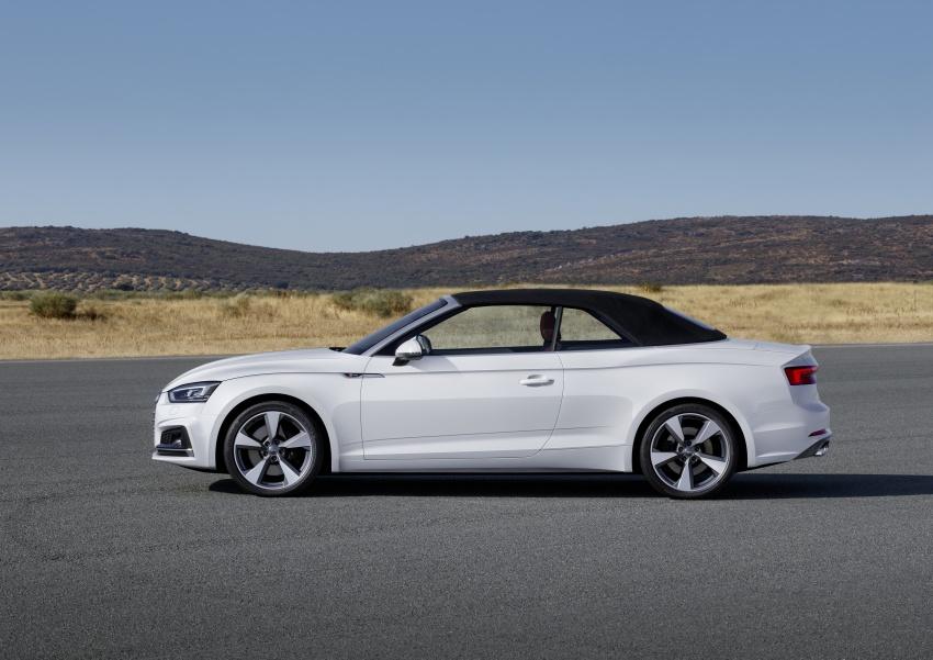 Audi A5 và S5 Cabriolet 2017 lộ diện - 3