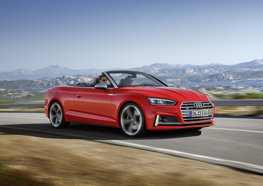 Audi A5 và S5 Cabriolet 2017 lộ diện - 6