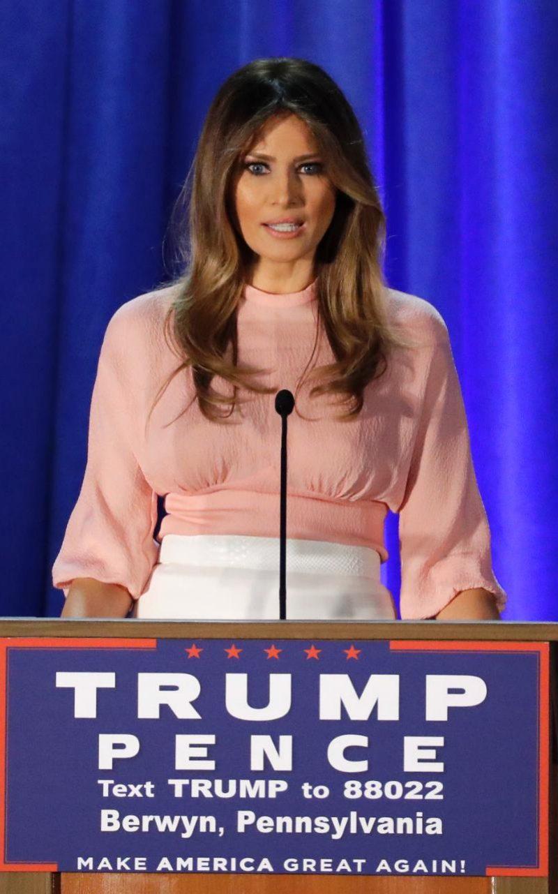 Ngắm vợ tân tổng thống sang chảnh nhất nước Mỹ - 10