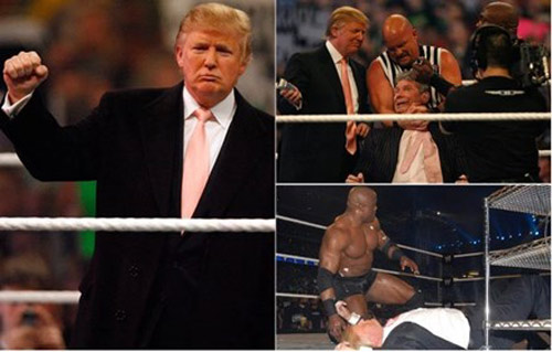 Tân tổng thống Mỹ Donald Trump & thú chơi thể thao lạ - 2