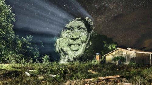 """Kinh ngạc bộ tranh """"vẽ"""" trên cây trong rừng Amazon - 5"""