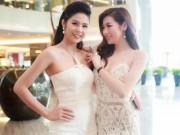 Thời trang - Ngọc Hân, Tú Anh so sắc với đầm cúp xẻ ngực gợi cảm
