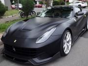 """Tư vấn - Cường Đô la """"lột xác"""" Ferrari F12 Berlinetta sang màu đen nhám"""