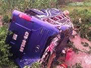 Tin tức trong ngày - Danh tính nạn nhân vụ lật xe khách kinh hoàng ở Quảng Nam