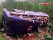 Tai nạn giao thông - Lật xe khách, 2 người chết, 14 người bị thương