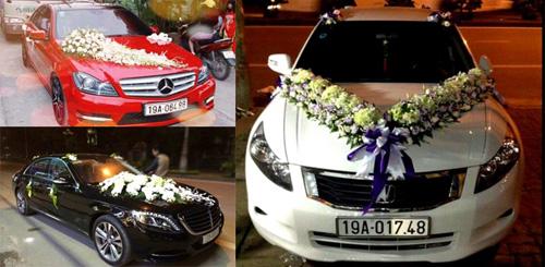 Diện kiến dàn xe sang đón dâu tại Phú Thọ - 1
