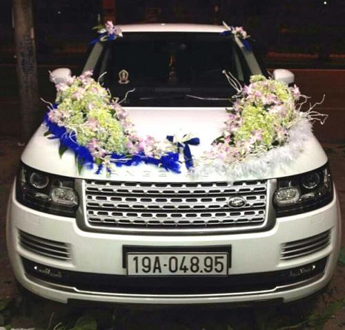 Diện kiến dàn xe sang đón dâu tại Phú Thọ - 2