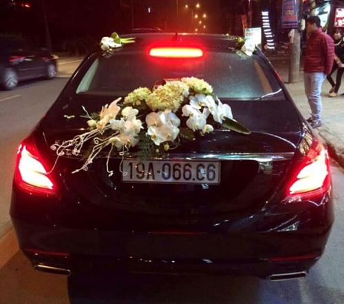 Diện kiến dàn xe sang đón dâu tại Phú Thọ - 4