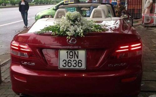 Diện kiến dàn xe sang đón dâu tại Phú Thọ - 6