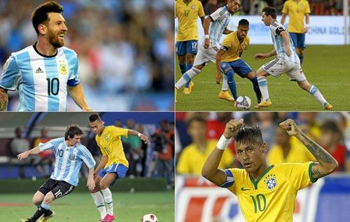 """Đối đầu nhau, Neymar thường xuyên bị Messi """"bắt nạt"""" - 1"""