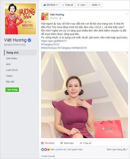 Sao Việt chia sẻ thông tin về Ngày hội Trang sức lớn - 2