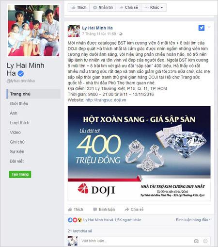 Sao Việt chia sẻ thông tin về Ngày hội Trang sức lớn - 3