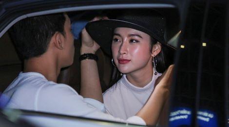 Angela Phương Trinh mặc không hở vẫn hút hồn ở sân bay - 7